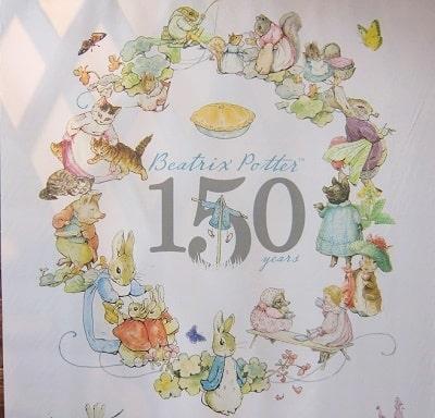 ピーターラビット生誕150周年展に行ってきた件
